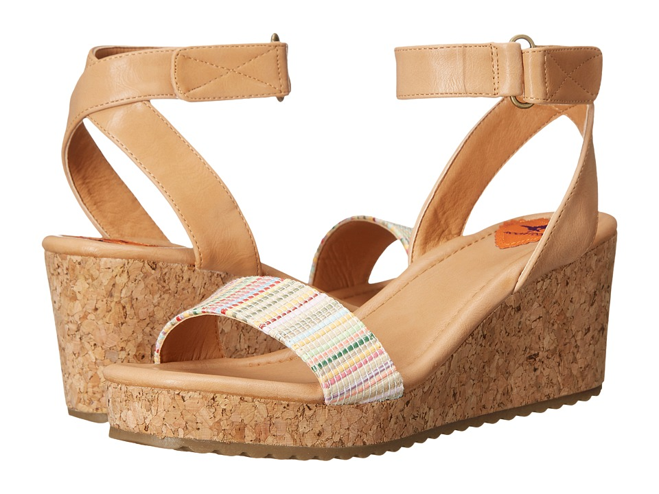 Rocket Dog Edda Natural Lucia/Rio Womens Wedge Shoes