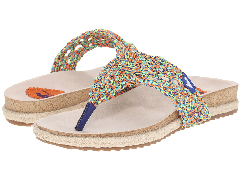 Rocket Dog Fairytale Multi Macrame Rope Womens Sandals