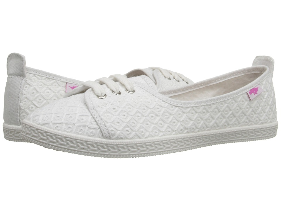 Rocket Dog Penny White Kingsley Womens Lace up casual Shoes