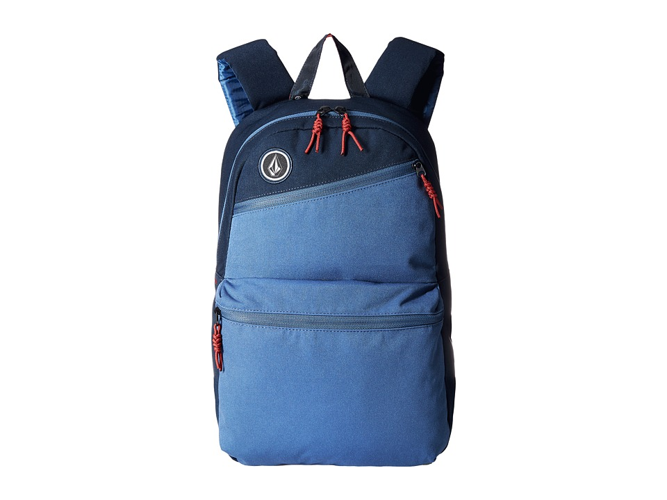 Volcom Academy Smokey Blue Backpack Bags