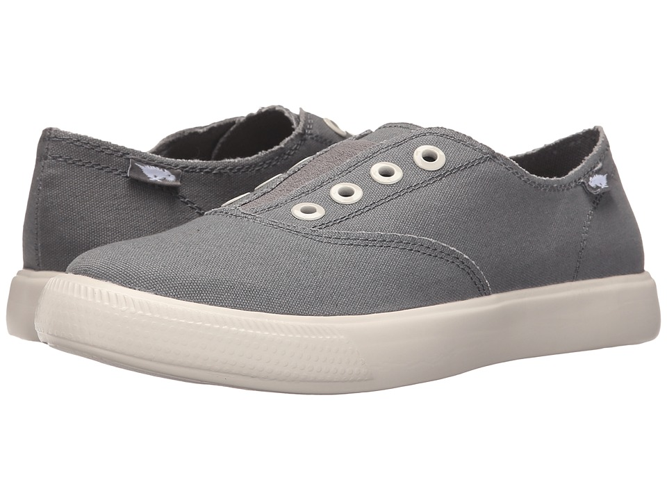 Rocket Dog Oxnard Grey Weekend Canvas Womens Slip on Shoes