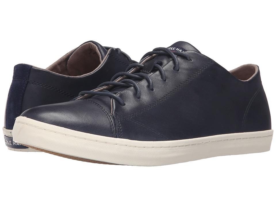Cole Haan - Trafton Cap Sport Oxford (Blazer Blue Handstain) Men