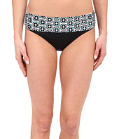 La Blanca - Tile Flora Shirred Hipster Bottom