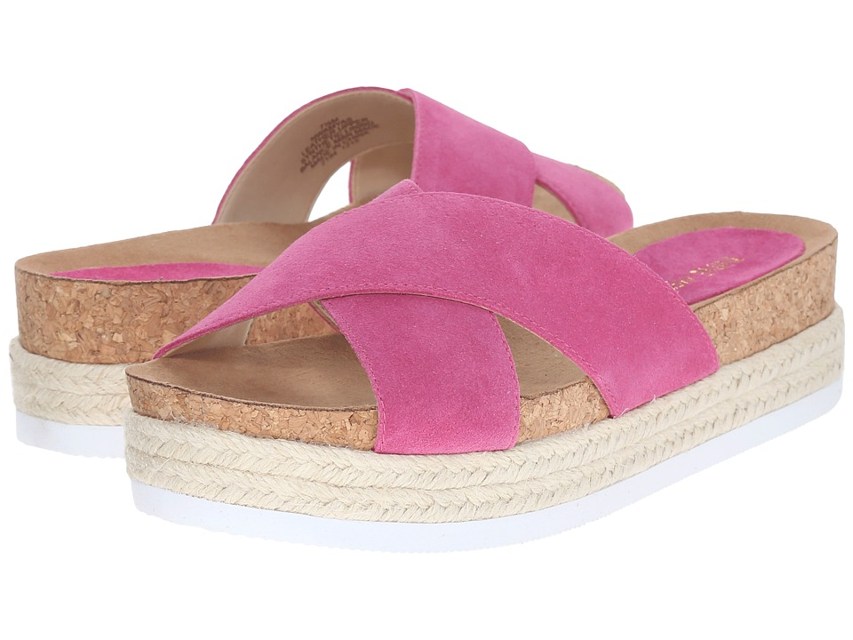Nine West Amyas Medium Pink Suede Womens Slide Shoes