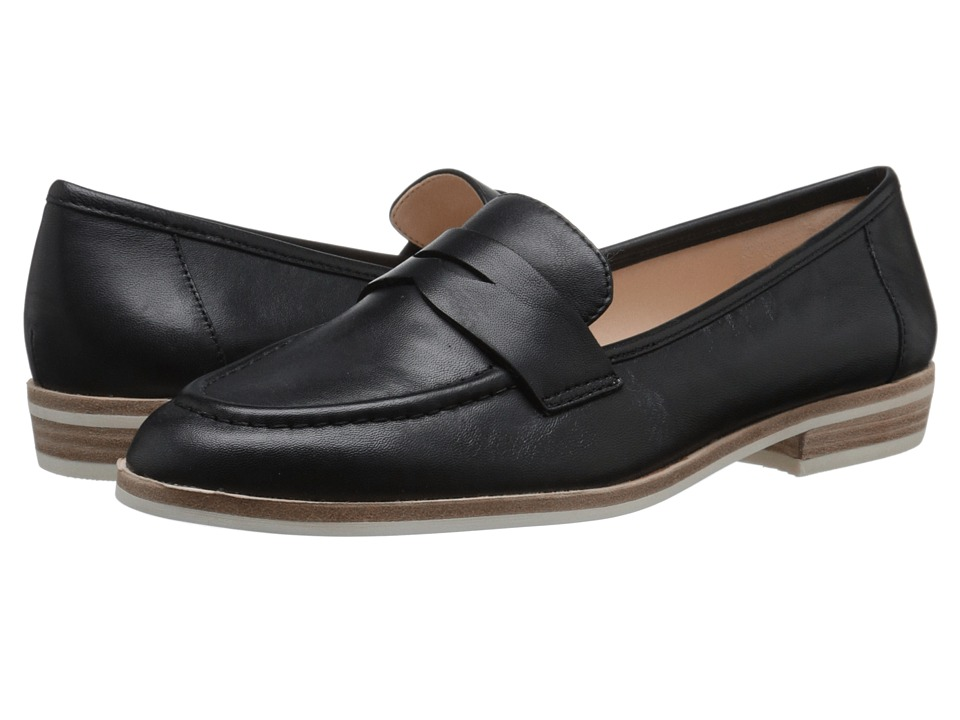 Nine West Antonecia Black Leather Womens Shoes