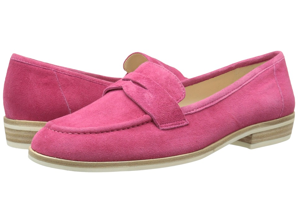 Nine West Antonecia Dark Pink Suede Womens Shoes
