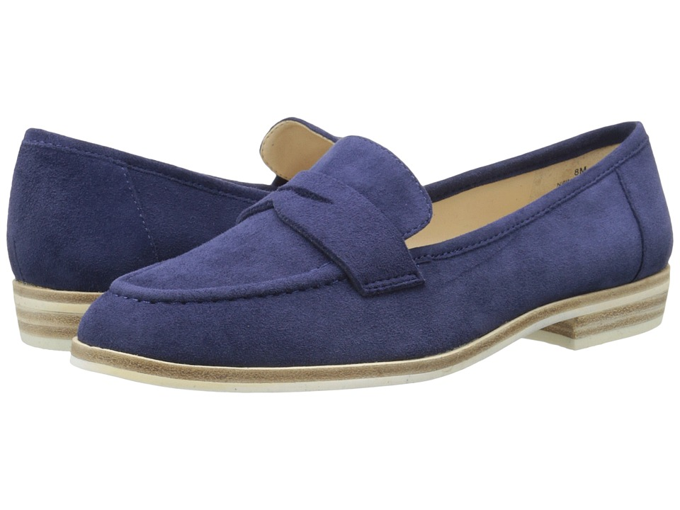 Nine West Antonecia Navy Suede Womens Shoes