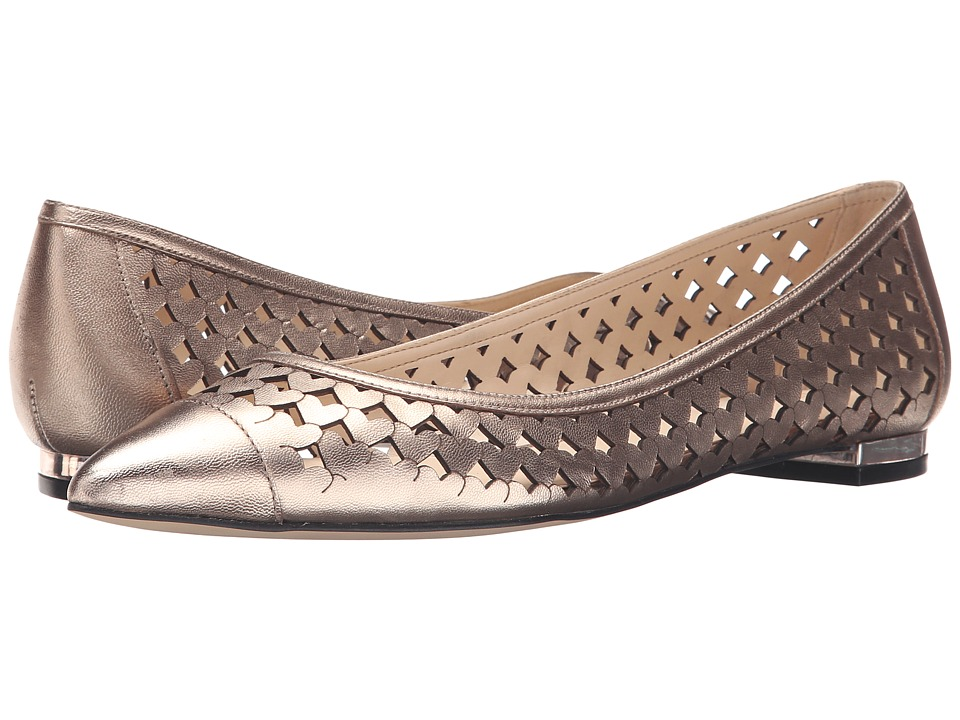 Nine West Ashling Natural Metallic Womens Shoes