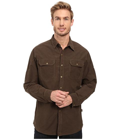 Kuhl Kompakt Long Sleeve Shirt - Dark Roast