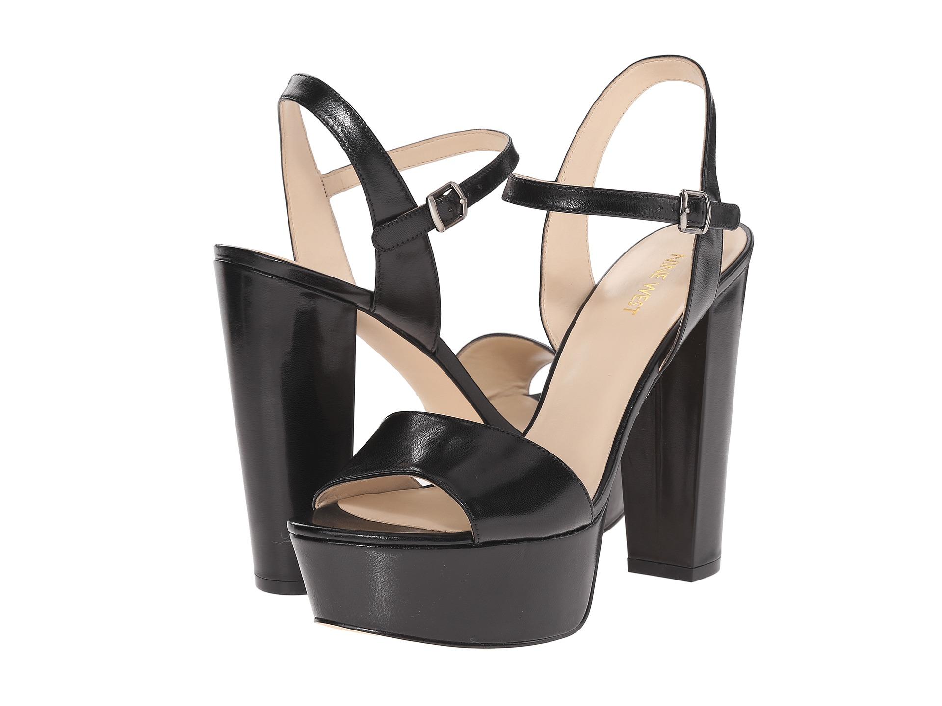 Black sandals nine west - Black Sandals Nine West 28