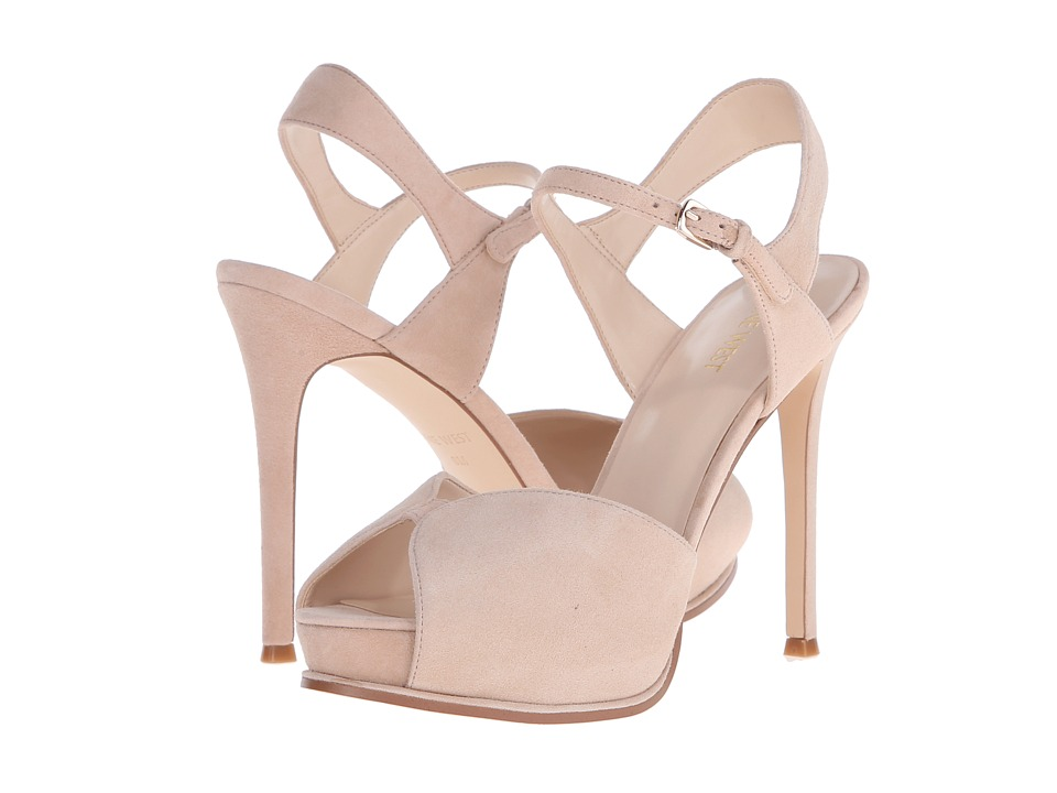 Nine West Cruzeto Light Natural Suede High Heels