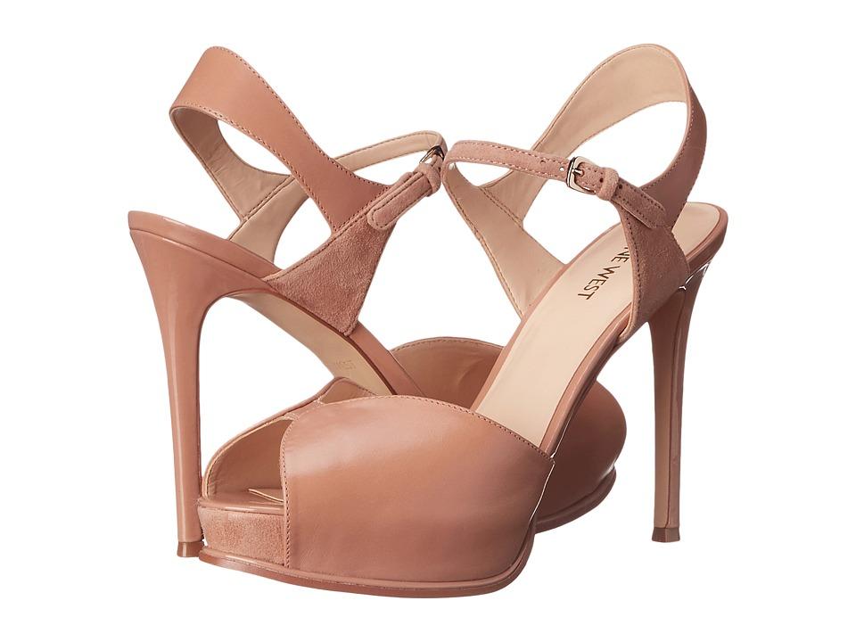 Nine West Cruzeto Natural Multi Leather High Heels