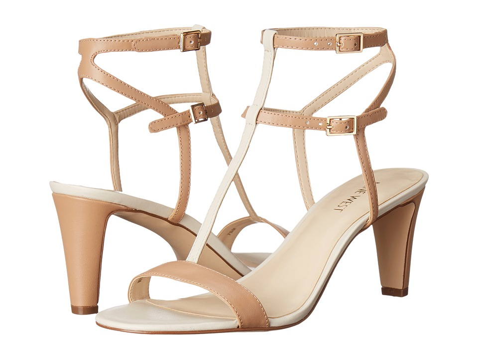 Nine West Dacey3 Medium Natural Multi Synthetic Womens Shoes