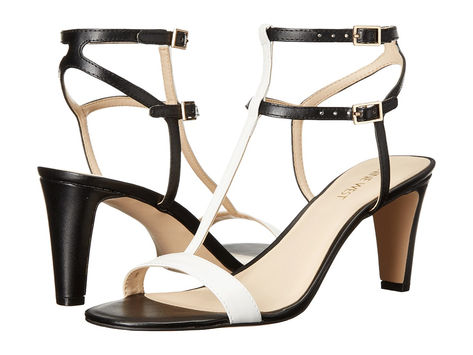 Nine West Dacey3 Black/White Synthetic Womens Shoes