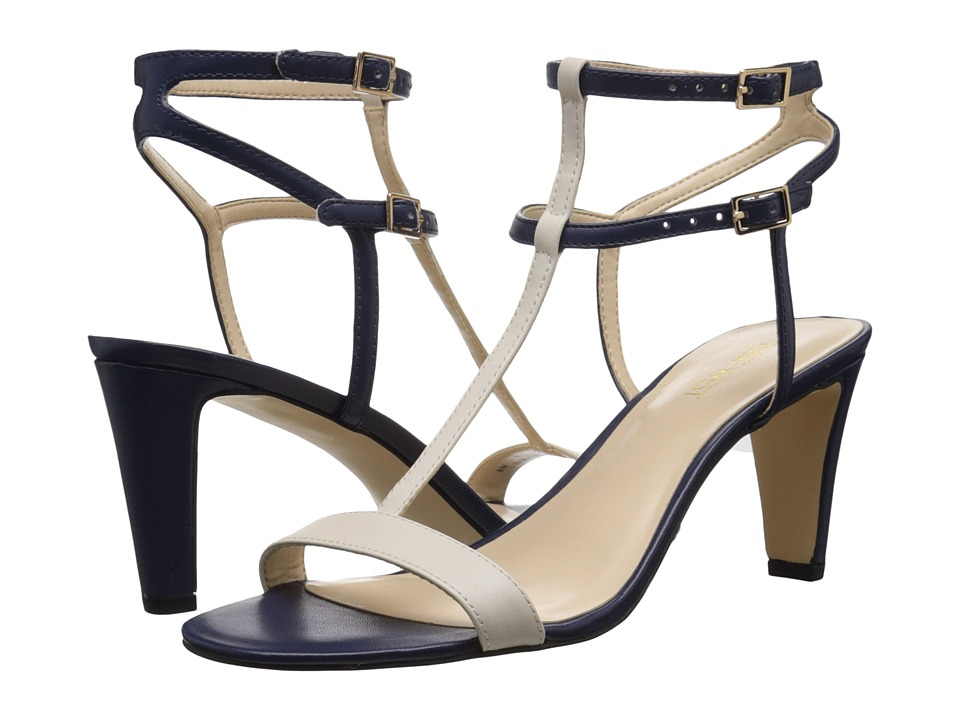 Nine West Dacey3 Navy/Off White Synthetic Womens Shoes