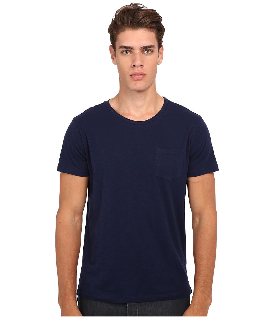 Gant Rugger R. Slit Tee Marine Mens T Shirt