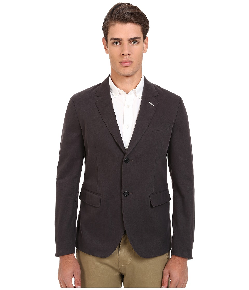 Gant Rugger R. Twill Blazer Dark Graphite Mens Jacket