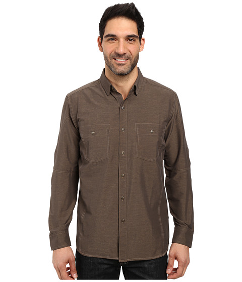 Kuhl Renegade Long Sleeve Shirt - Walnut