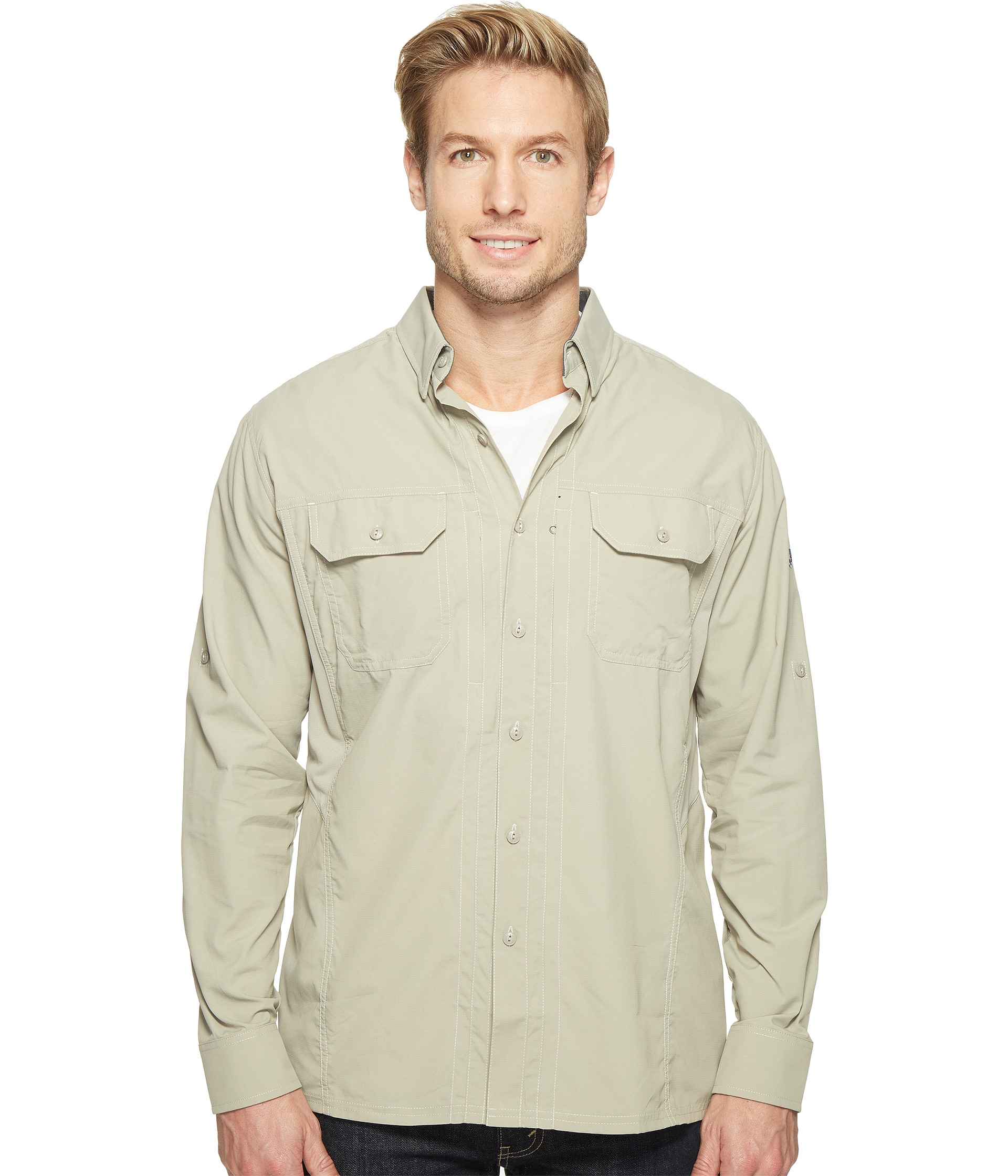 Kuhl thrive long sleeve shirt at for Lightweight breathable long sleeve shirts