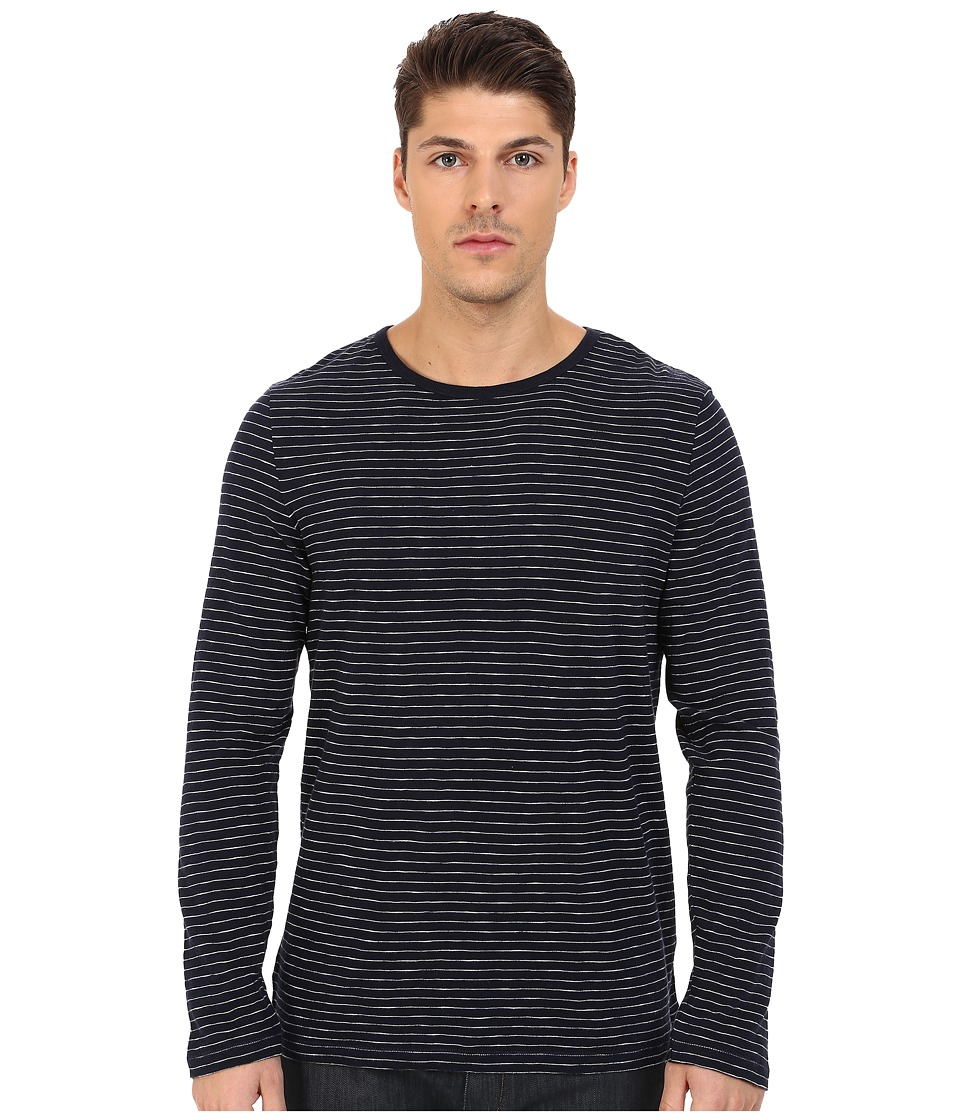 Gant Rugger R. Mini Breton Snugger Persian Blue Mens Clothing
