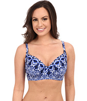 La Blanca - Tangier Over the Shoulder Top (D-Cup/DD-Cup/E-Cup)