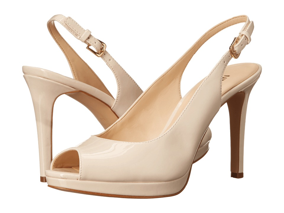 Nine West Emilyna3 Off White Synthetic Womens Shoes