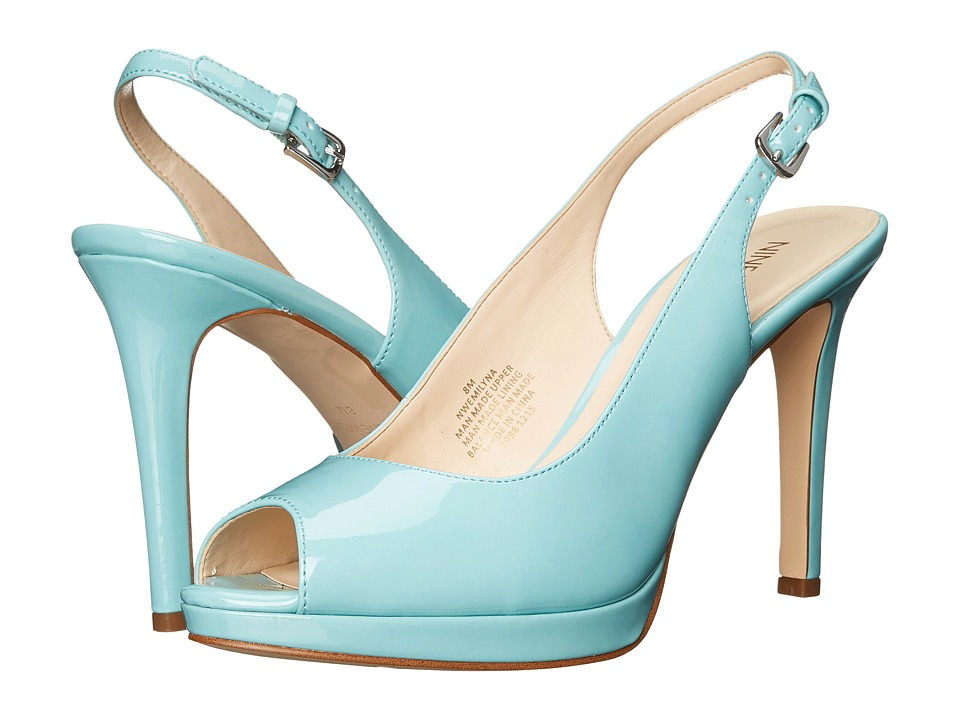 Nine West Emilyna3 Blue Synthetic Womens Shoes