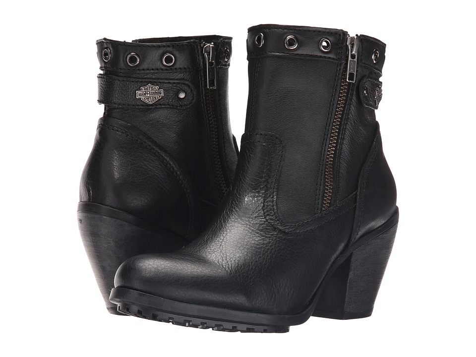 Harley-Davidson - Inwood (Black) Womens Pull-on Boots