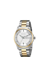 Gucci - G Timeless 38mm Silver Dial Bracelet