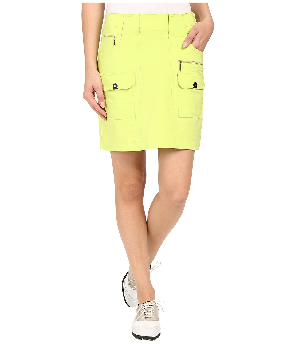 Jamie Sadock Airwear Light Weight 18 in. Skort Lime Crime Womens Skort
