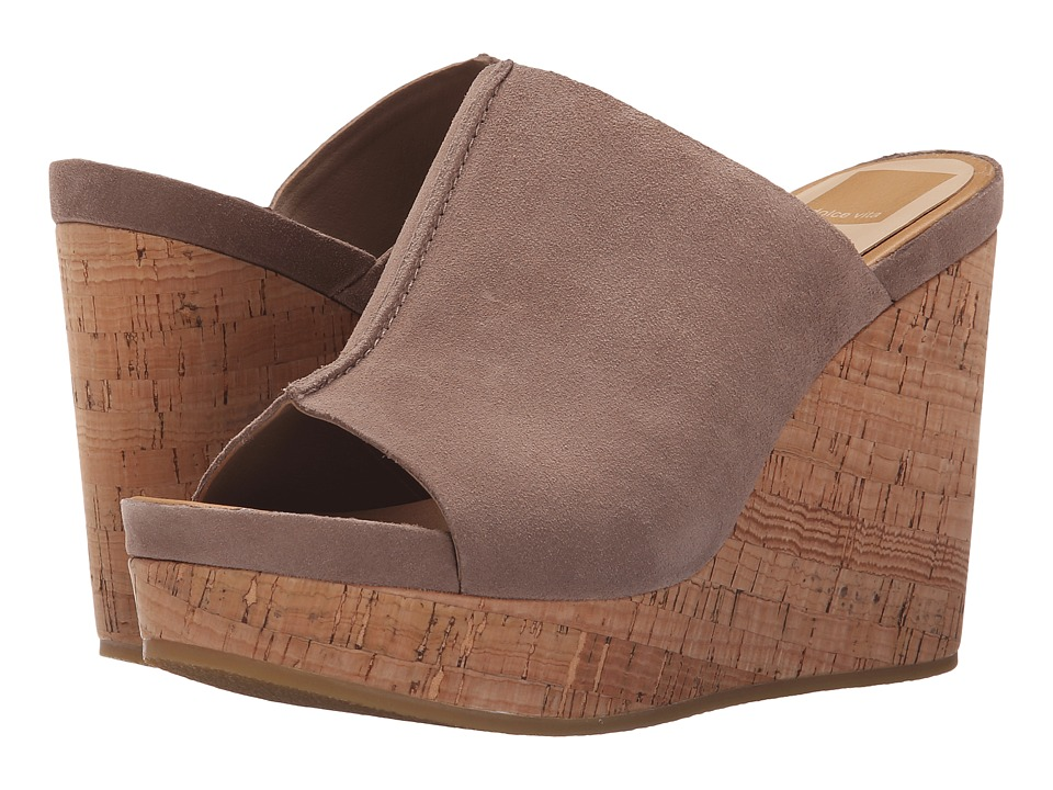 Dolce Vita Ross Almond Suede Womens Shoes