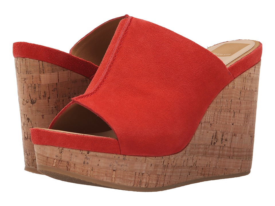 Dolce Vita Ross Persimmon Suede Womens Shoes