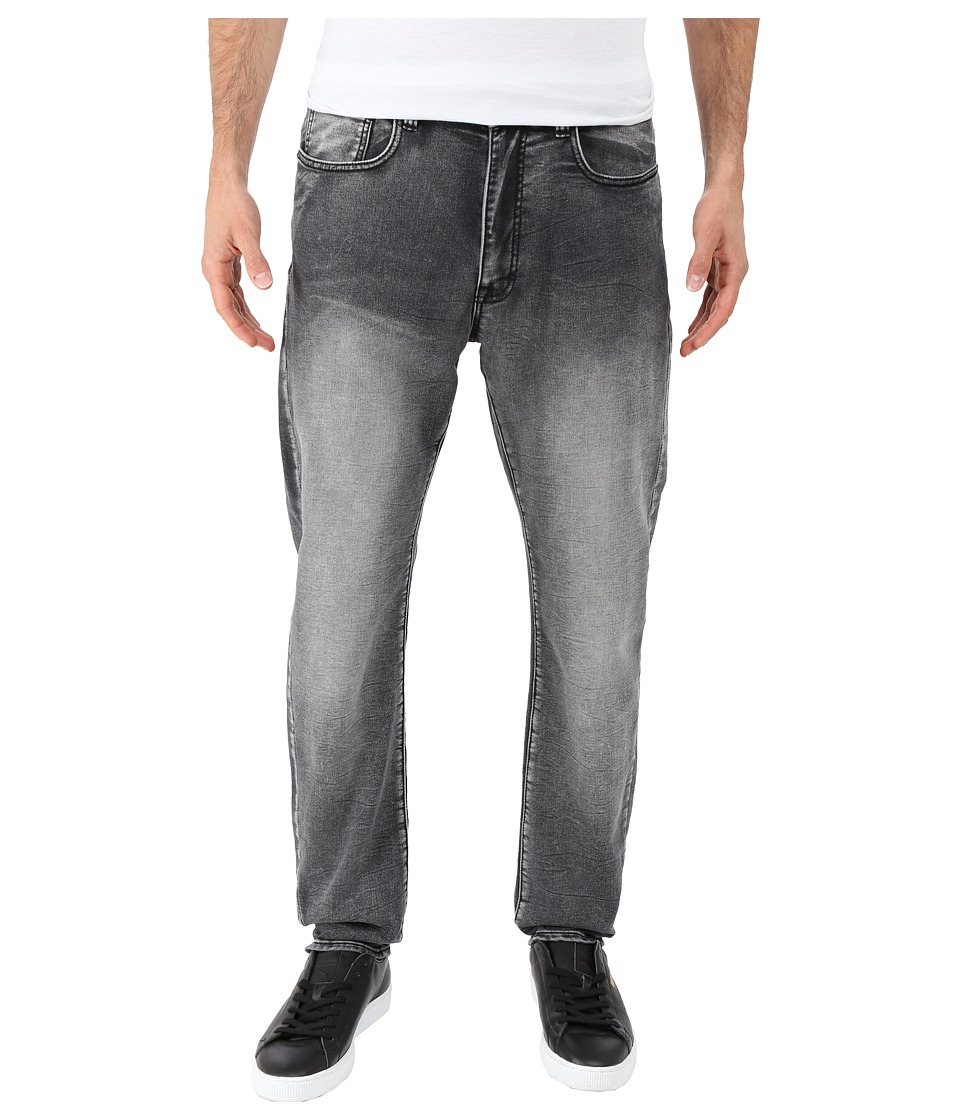 Kenneth Cole Sportswear Experimental Denim Tapered in Grey Wash Grey Wash Mens Jeans