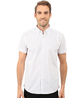 Kenneth Cole Sportswear - Short Sleeve Button Down Collar X Print