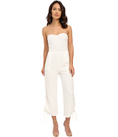 Brigitte Bailey - Pesaro Strapless Cropped Jumpsuit w/ Lace-Up Vents