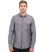 Kenneth Cole Sportswear - Long Sleeve Modern Utility Shirt