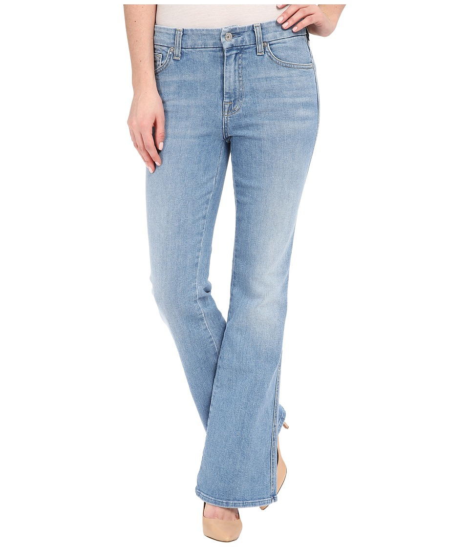 7 For All Mankind Tailorless A Pocket in Palisades Blue Palisades Blue Womens Jeans