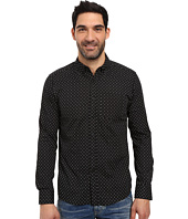 Kenneth Cole Sportswear - Long Sleeve Button Down Collar Surfboard Print
