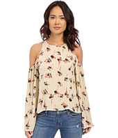 Brigitte Bailey - Novara Cold Shoulder Flare Sleeve Top