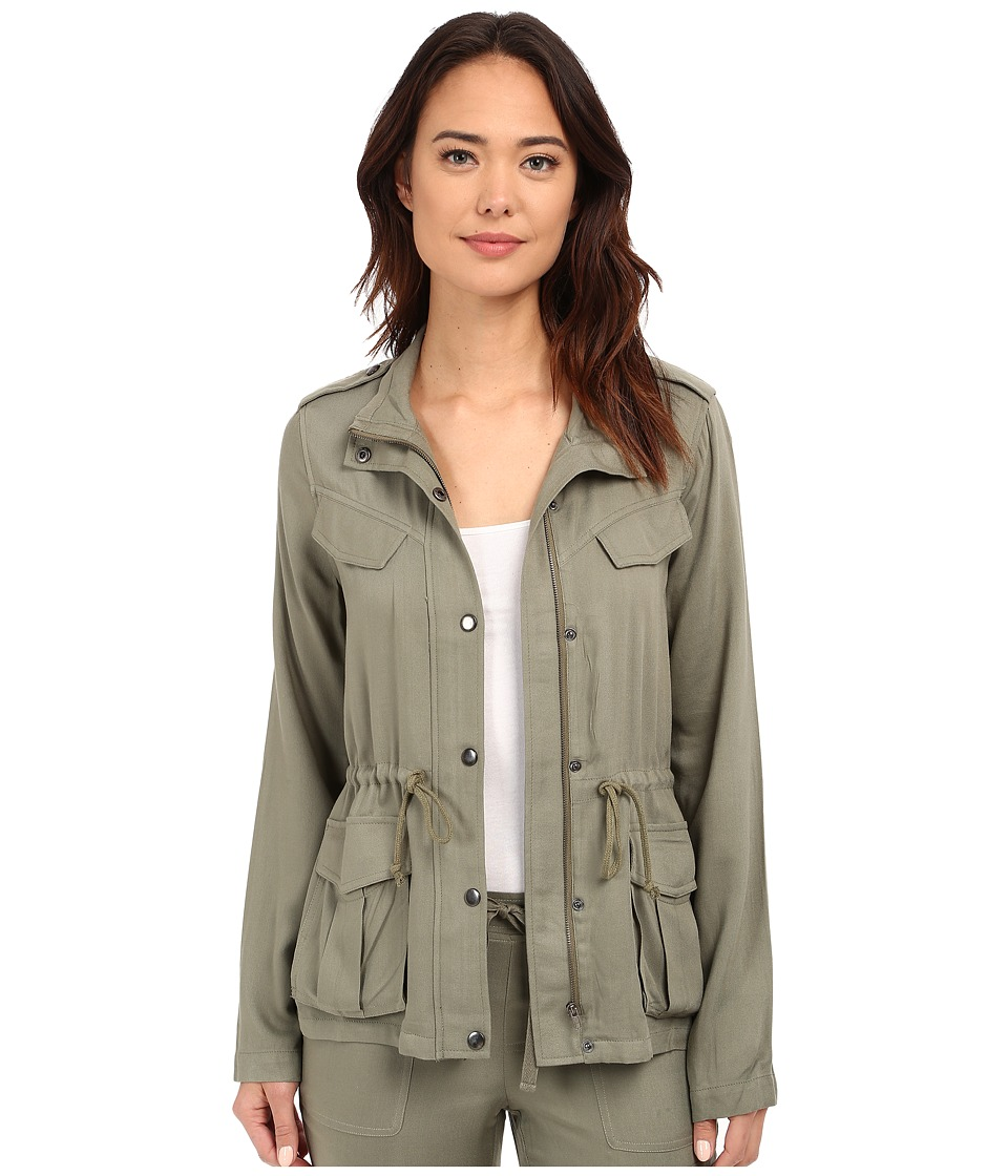 Brigitte Bailey Bianca Military Jacket Olive Womens Coat