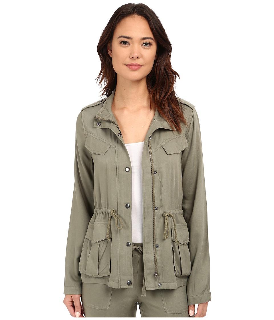 Brigitte Bailey Bianca Military Jacket Olive Womens Coat