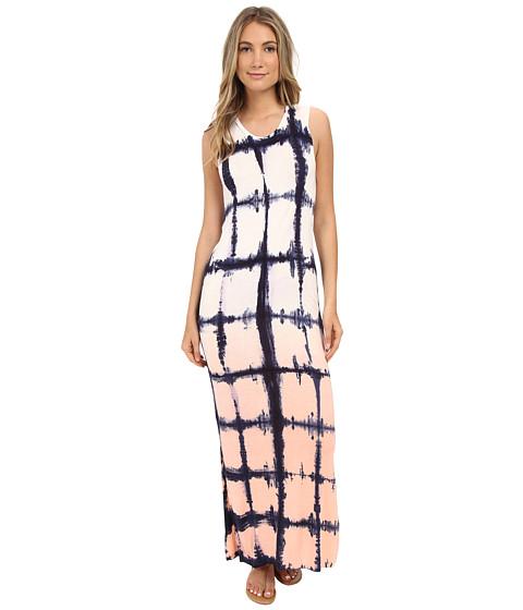 Brigitte Bailey Tie-Dye Graphic Dress