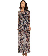 Brigitte Bailey - Marche Floral Sheer Maxi w/ Slip