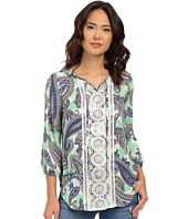 Christin Michaels - Tours Print Blouse