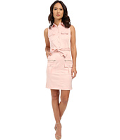 Christin Michaels - Katie Belted Shirtdress