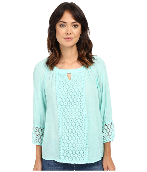 Christin Michaels Caen Lace Top