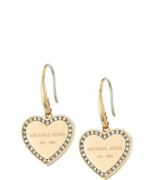 Michael Kors - Heritage Heart Drop Earrings