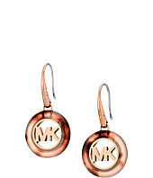 Michael Kors - Fulton Logo Drop Earrings