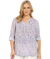 NYDJ Plus Size - Plus Size Henley Tunic