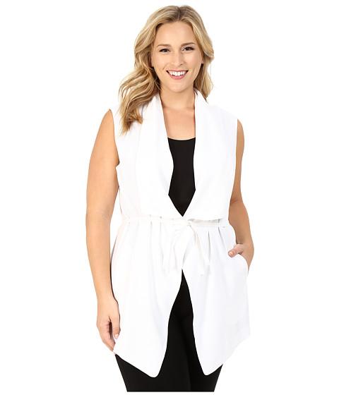 NYDJ Plus Size Plus Size Sleeveless Cascade Jacket